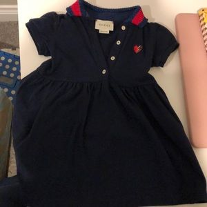 Dress worn twice by infant